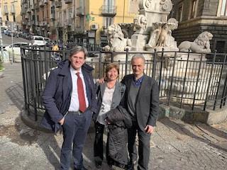 La Fontana di Monteoliveto protetta dai vandali: ultimata la recinzione