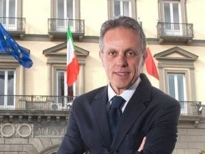 Salvatore Guangi, candidato in Campania con il centrodestra alle elezioni suppletive per il Senato