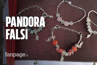 Braccialetti e charm Pandora falsi invadono Napoli