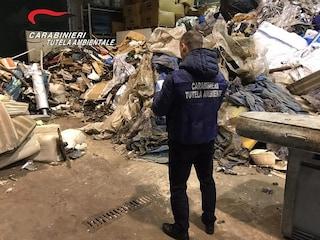 Fiume Sarno, veleni e rifiuti contaminati: sequestrato impianto a Mercato San Severino