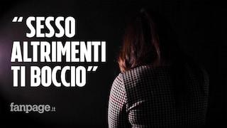 Molestie sessuali all'Accademia di Belle Arti Napoli, il video: studentessa accusa il prof