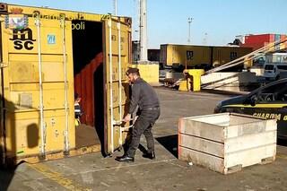 Traffico di rifiuti verso l'Africa, nel porto di Napoli sequestrato container di spazzatura