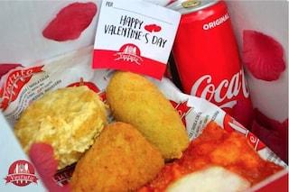Il vero amore sa di fritto: a Napoli frittatine e panzarotti nella box di San Valentino