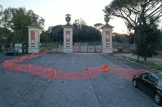 Maltempo Napoli, il Parco Virgiliano resta chiuso: c'è ancora pericolo caduta alberi