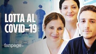 Infermieri contro il Coronavirus. Alessia, Lucia e Alessandro che al Cotugno salvano vite