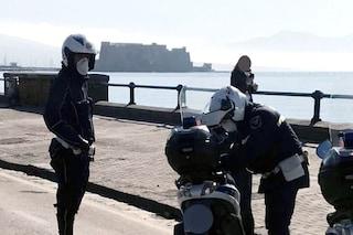 A Napoli 100mila controlli col lockdown. Multe e denunce per 650 persone e 150 negozi
