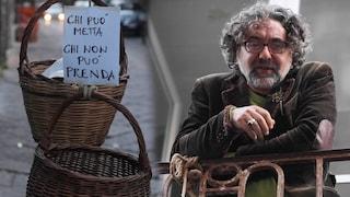 A Napoli il panaro solidale per donare o prendere cibo. 'Aiutiamo chi non ce la fa'