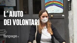 Coronavirus Napoli, il grande cuore dei volontari che portano spesa e medicine a chi non può uscire
