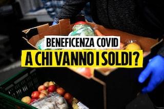 Dove sono finiti i soldi donati per i pacchi alimentari ai poveri durante il Coronavirus?