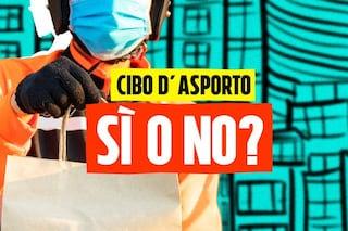 È giusto permettere di nuovo in Campania pizza e panino d'asporto o a domicilio?