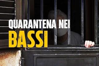 Coronavirus, nei 'bassi' napoletani è come in galera: la quarantena non è uguale per tutti