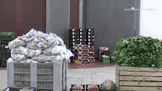 Alla Mostra d'Oltremare si raccoglie cibo per chi è in difficoltà durante l'emergenza coronavirus