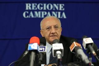 """De Luca infuriato: """"Non sono scappato a Salerno per paura del Covid, è un'idiozia"""""""