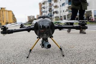 Carcere di Secondigliano, scoperto drone con 10 cellulari e chiavistelli