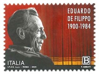 Un francobollo dedicato ad Eduardo De Filippo per i 120 anni dalla nascita