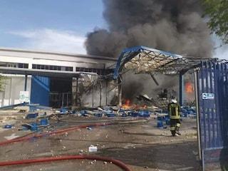 Esplosione Adler Ottaviano, l'Arpac: c'era diossina nella nube nera