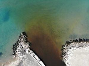 La macchia nera alla foce del Canale Agnena era letame: sequestrata azienda bufalina