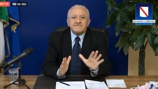 Sondaggi politici, De Luca è l'11esimo presidente di Regione più amato in Italia