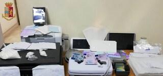 Dal centro di Napoli documenti falsi per i terroristi, la stamperia gestita da 4 fratelli
