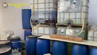 San Giorgio, scoperta fabbrica abusiva di disinfettanti pericolosi per la salute