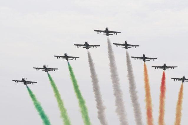 Frecce Tricolori Napoli 28 maggio zone panoramiche vedere spettacolo