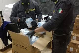 Migliaia di mascherine false in vendita a Napoli: sequestrate altre 6mila non a norma