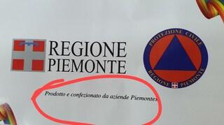 Mascherine 'Made in Piemonte' fatte sul Vesuvio, la Regione ammette: 'Fatte altrove'