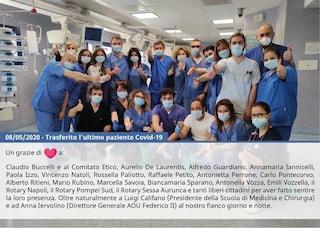 Napoli, chiudono i reparti Covid19 di Policlinico e Monaldi: trasferiti gli ultimi pazienti