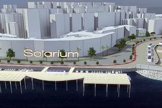 Fase 2 a Napoli, Solarium sulle scogliere del Lungomare: annuncio di De Magistris