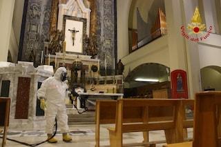 Fase 2, sanificato il Santuario di Montevergine: si va verso la riapertura ai fedeli