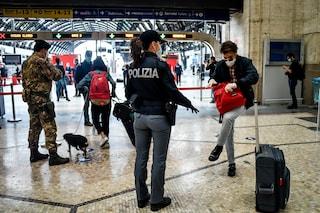 La Campania è zona rossa, in treno molti viaggiatori non hanno le autocertificazioni