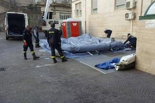 Campania, smontate le tende pre-filtro Covid dagli ospedali. Restano al Cardarelli e San Paolo