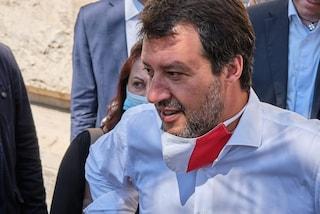 "Salvini a Mondragone: ""Prima si manda a casa De Luca, meglio è"""