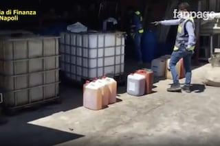 Sequestrati a Nola e Ottaviano 46mila litri di carburante e olio per motore di contrabbando