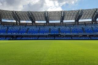 Il San Paolo riapre dopo 3 mesi per Covid, manto erboso in ottime condizioni per l'Inter