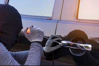 Auto rubate nel parcheggio del Vulcano Buono: 60 secondi per metterle in moto