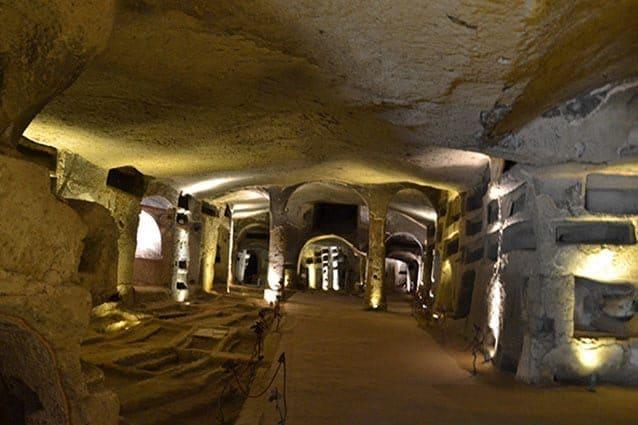 Catacombe di San Gennaro a Napoli (Wikipedia)