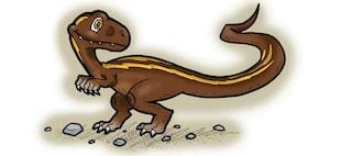 Ciro il Dinosauro sannita diventa un fumetto da colorare