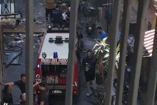 Esplode bombola di gas in via Salvator Rosa, donna ferita: è grave