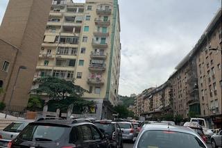 Galleria Laziale, chiude per lavori una corsia: inferno traffico a Fuorigrotta