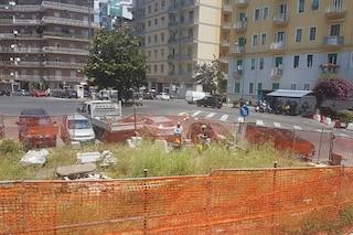 Box auto piazza Leonardo, via il vecchio cantiere: ce ne sarà uno nuovo al centro della piazza