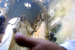 La Madonna delle Grazie doveva inchinarsi al boss: un omaggio al clan Belforte