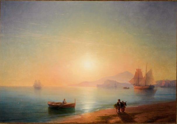 Un quadro del Golfo di Napoli è il più pagato di sempre a un'asta online: 2,5 milioni di euro