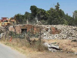 Il borgo San Zaccaria ormai demolito. [Foto @Italia Nostra Napoli]
