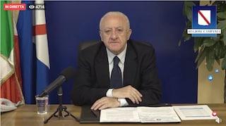 Riapertura scuole in Campania il 14 settembre, De Luca cambia di nuovo idea