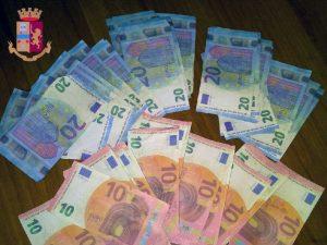 Napoli di nuovo inondata da false banconote di 10 e 20 euro