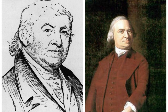 Paul Revere e Samuel Adams