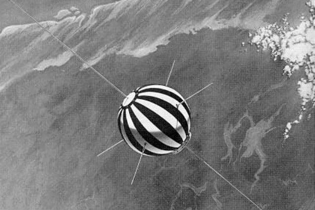 Rappresentazione del Satellite San Marco 2