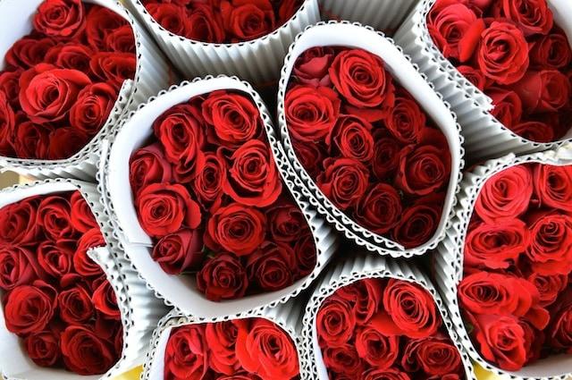 Il prezzo e la qualità delle rose varia a seconda delle condizioni climatiche e delle stagioni