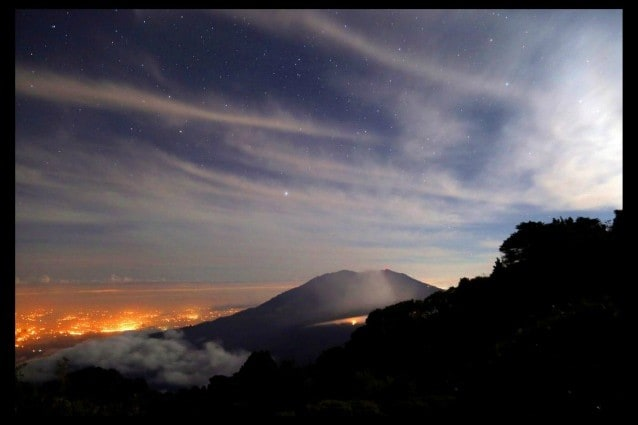 Il vulcano Turrialba, Costa Rica